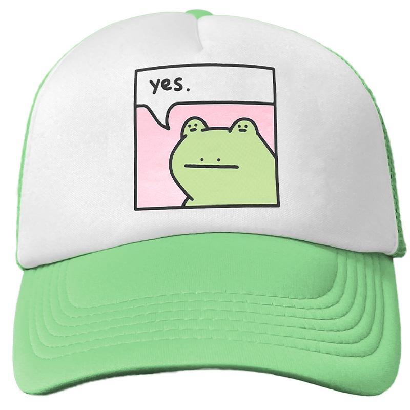 Leon Karssen Bff Trucker Hat Set Light Green White Light Pink