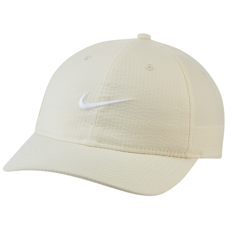 Nike H86 Seersucker Flatbill Cap Coconut Milk/White