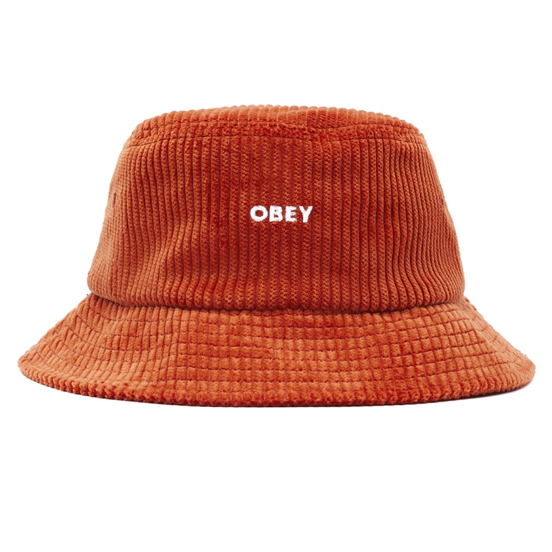 Obey Bold Cord Bucket Hat Ginger