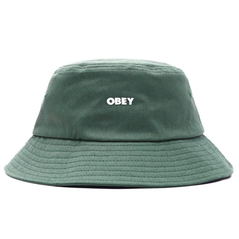 Obey Bold Twill Bucket Hat Leaf