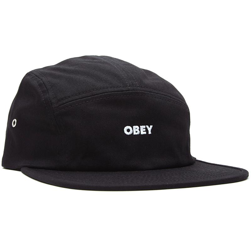 Obey Future 5 Panel Cap Black