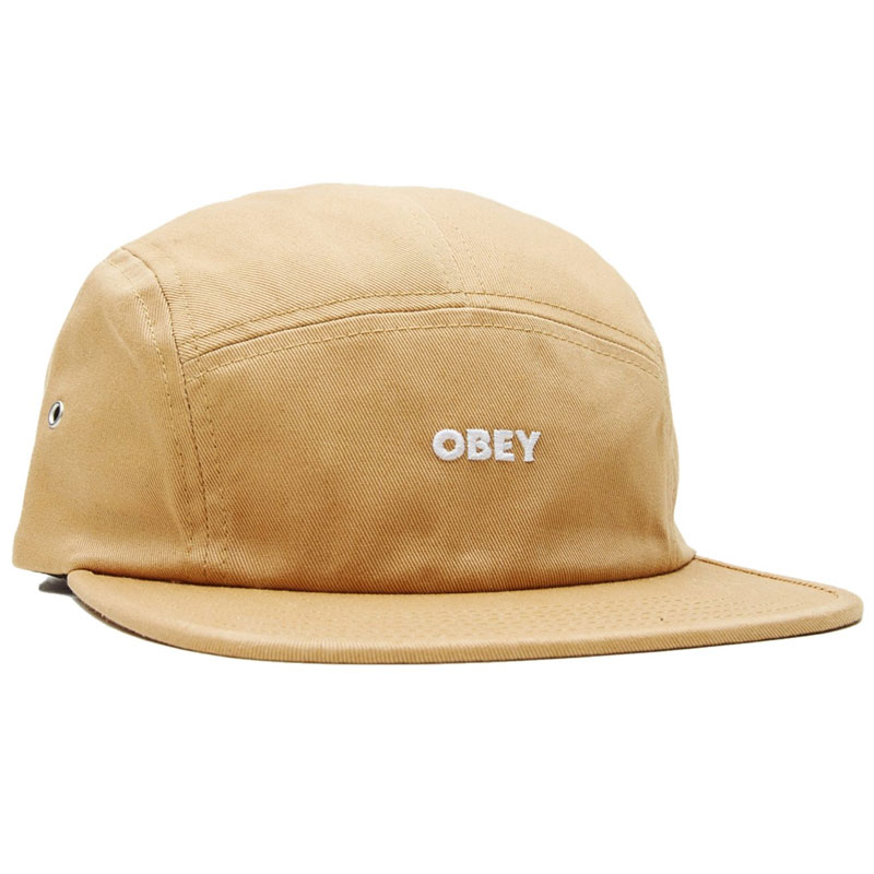 Obey Future 5-Panel Cap Duck Brown