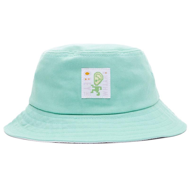 Obey Rhythm Bucket Hat Mint/White