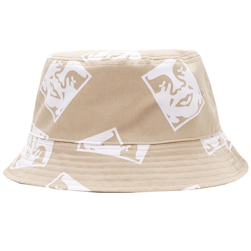 Obey X Dickies Reversible Bucket Hat Khaki
