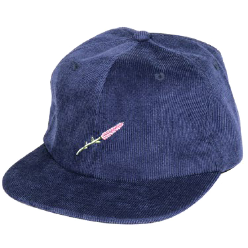 Pass Port Lavender 6 Panel Cap Navy