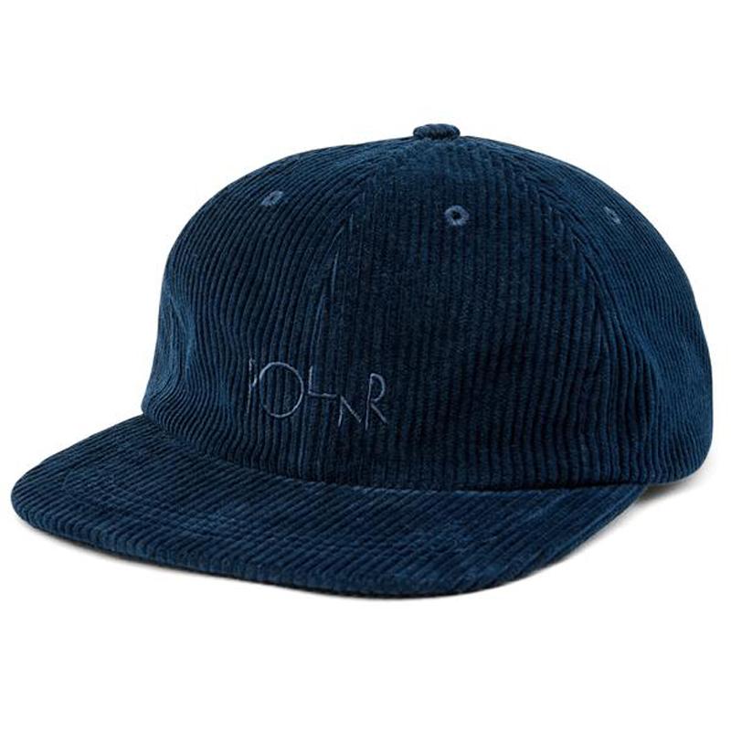Polar Cord Cap Police Blue