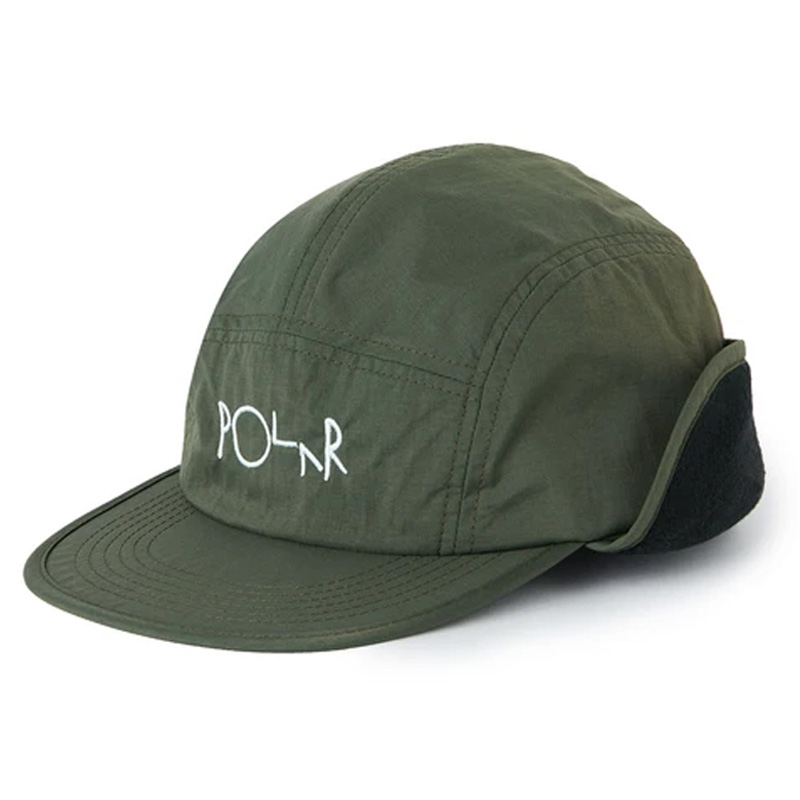 Polar Flap Cap Army Green