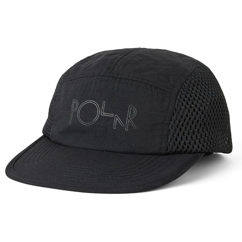 Polar Mesh Speed Cap Black