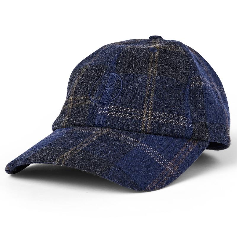 Polar Wool Stroke Logo Cap Blue
