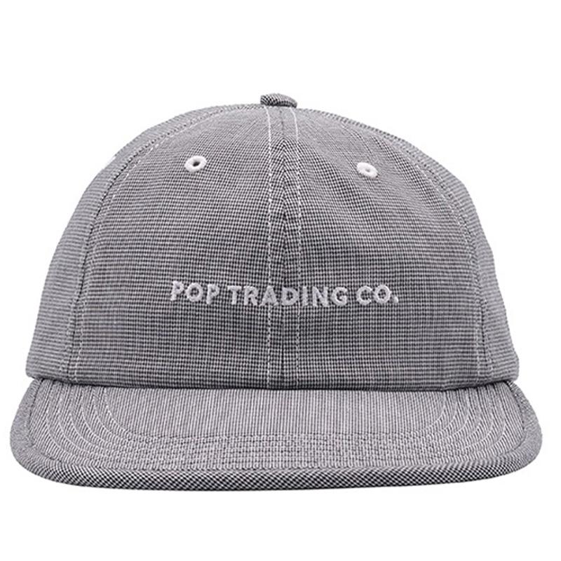 Pop Trading Company Flexfoam 6 Panel Hat Pepper Plaid