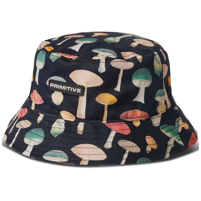 Primitive Ashbury Bucket Hat Black