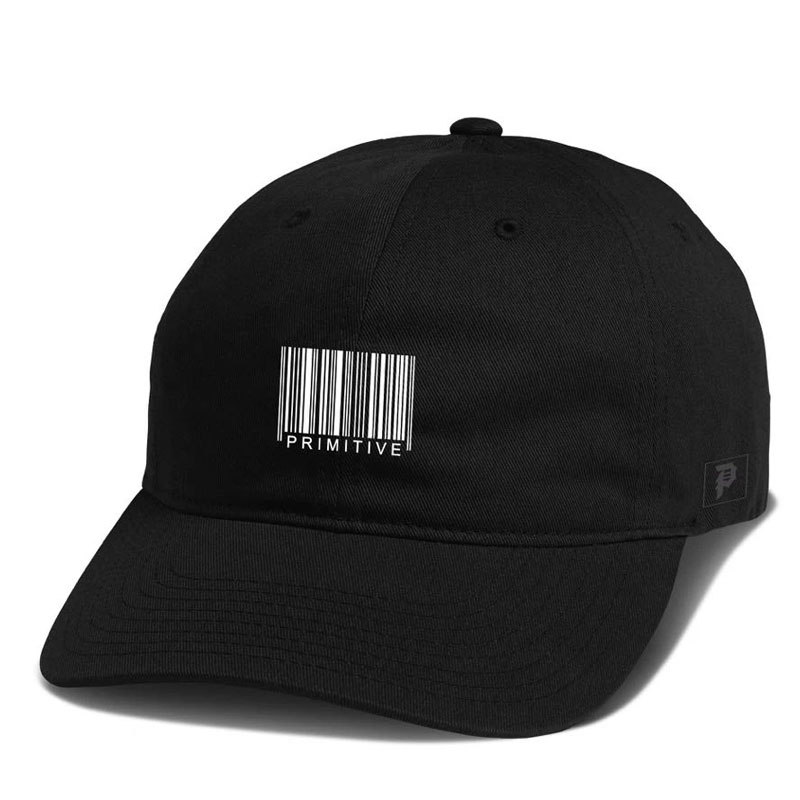 Primitive Code Strapback Cap Black