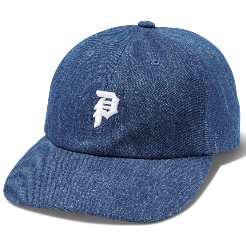 Primitive Mini Dirty P Denim Hat Navy Denim