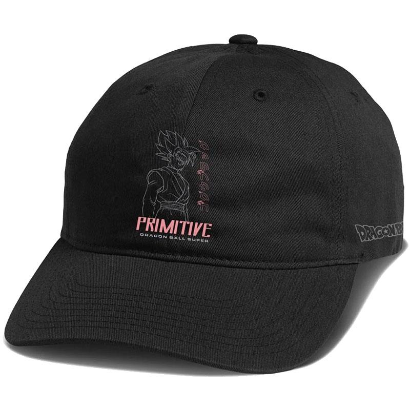 Primitive X Goku Black Strapback Cap Black