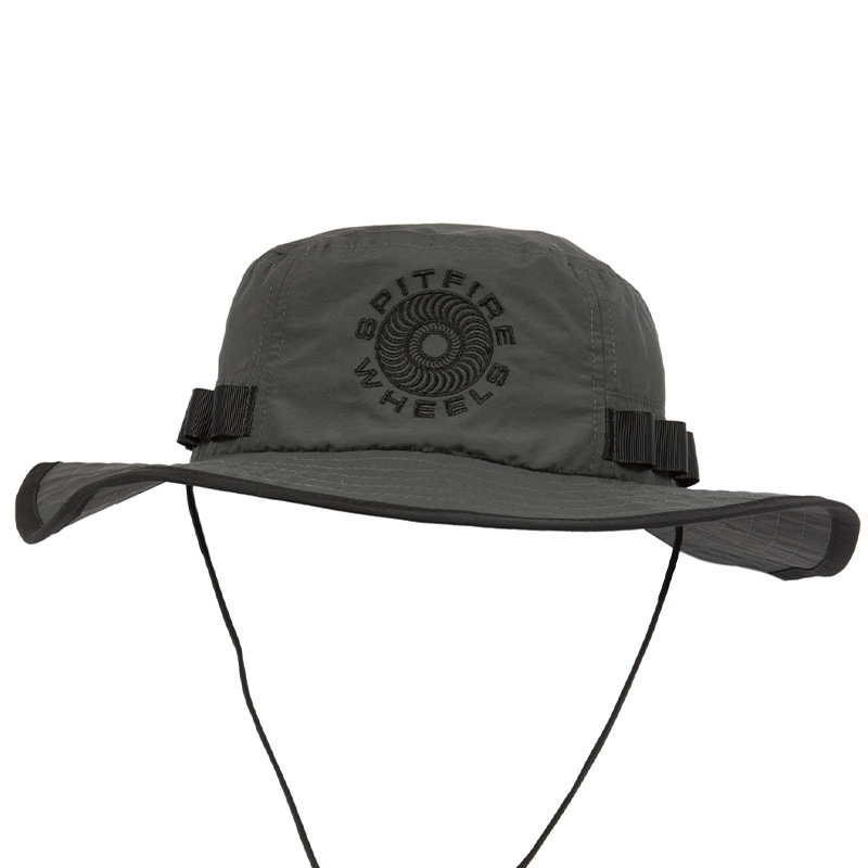 Spitfire Classic 87' Swirl Boonie Hat Charcoal/Black