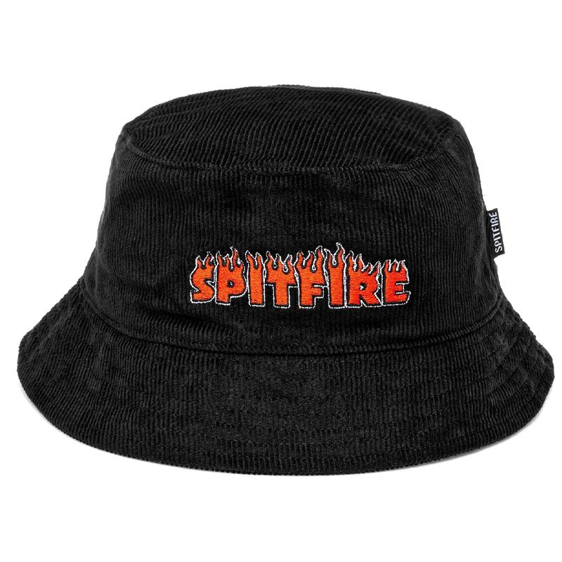 Spitfire Flash Fire Bucket Hat Black