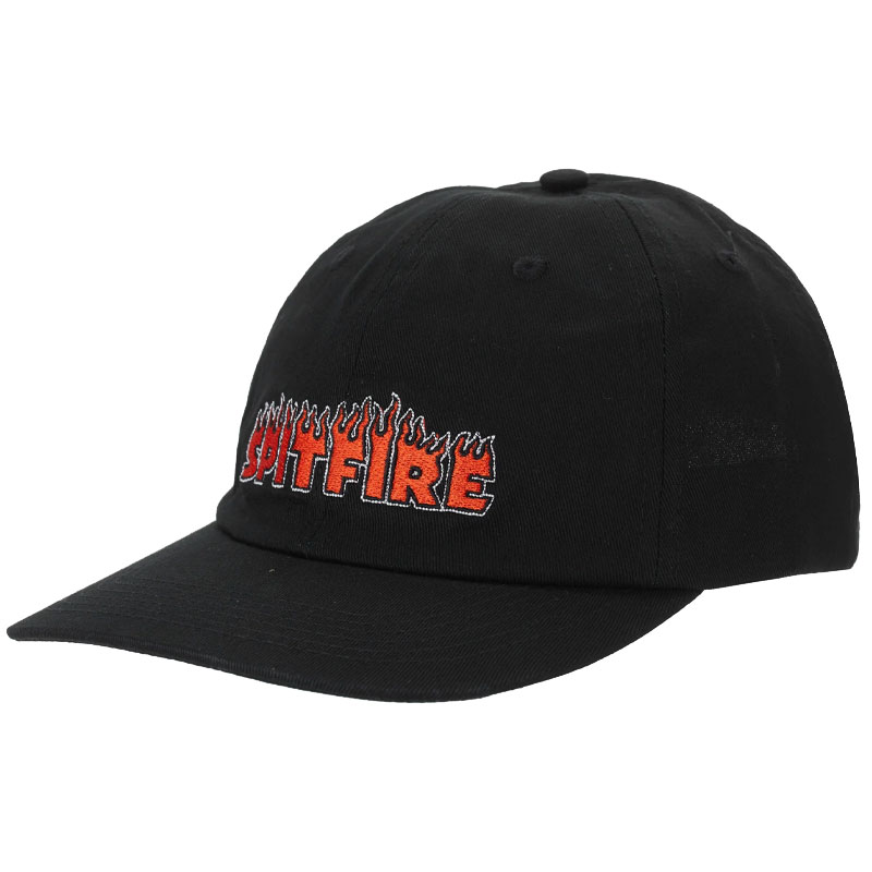 Spitfire Flash Fire Strapback Cap Black