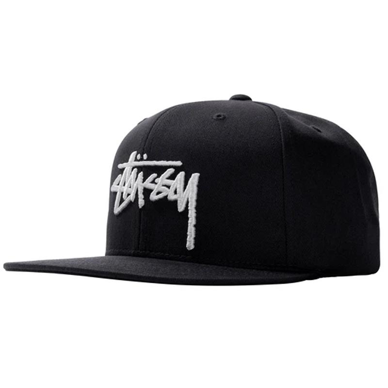 Stussy Stock Cap Black