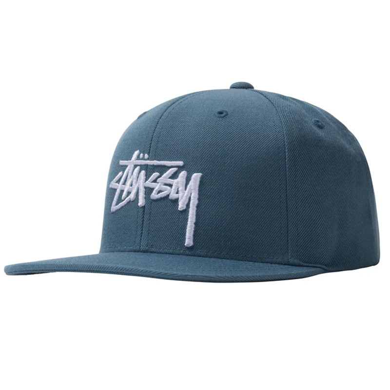 Stüssy Stock Cap Steel Blue