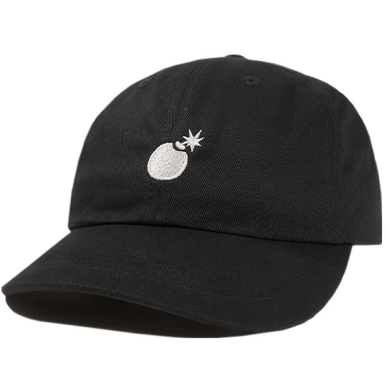 The Hundreds Solid Bomb Dad Hat Black
