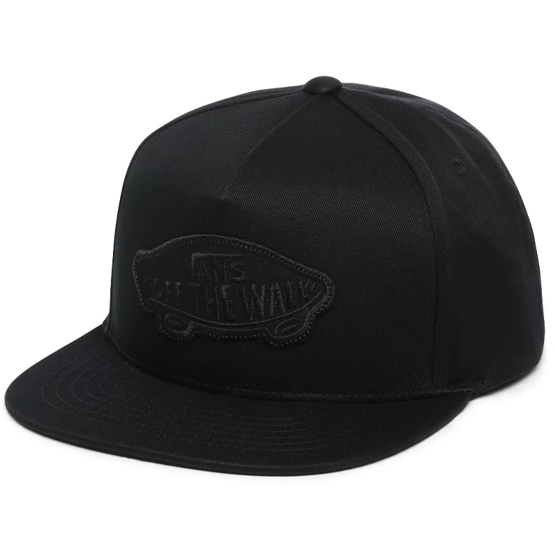 Vans Classic Patch Snapback Cap Black/Black