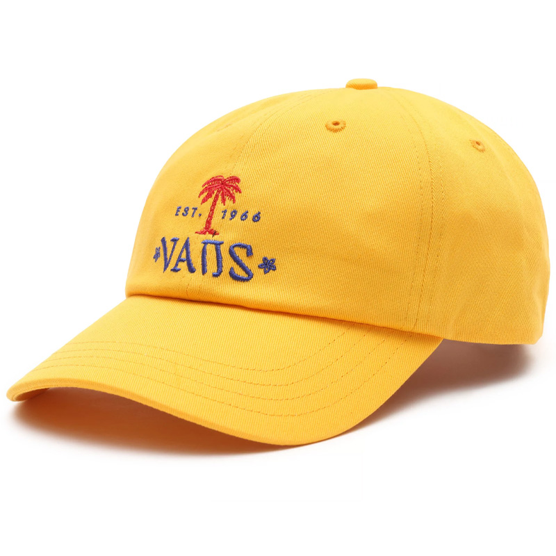 Vans Quinby Curved Bill Jockey Hat Saffron