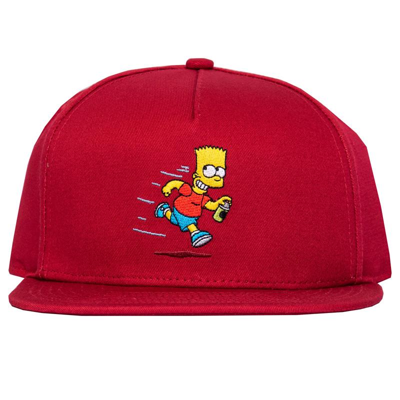 Vans X The Simpsons Kids Cap Red