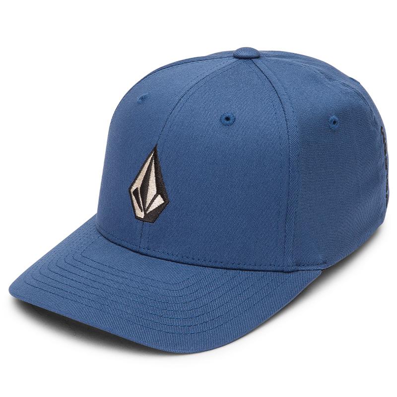 Volcom Full Stone Xfit Cap Smokey Blue