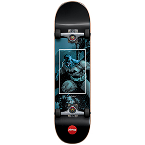 Almost Batman Fight Club Youth Blue Complete Skateboard -with soft wheels- 7.25