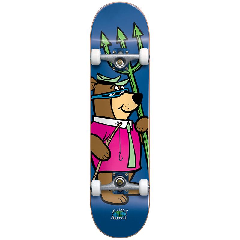 Almost Big Yogi Resin Complete Skateboard Blue 7.75