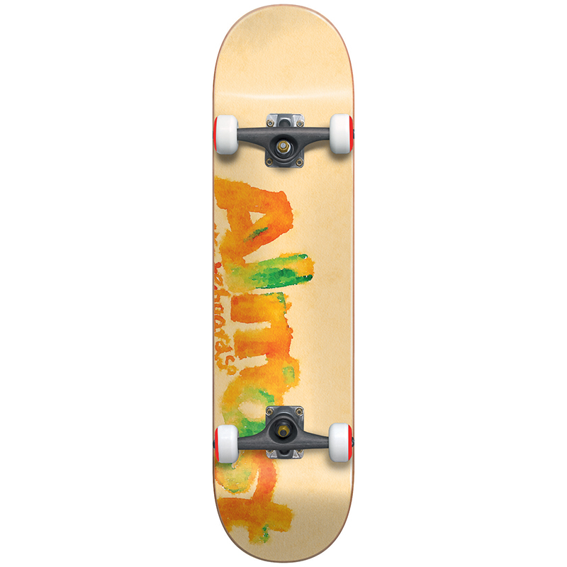 Almost Blotchy Peach Complete Skateboard 7.75
