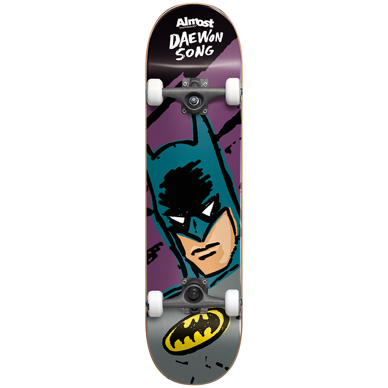Almost Daewon Sketchy Batman Complete Premium Skateboard 8.0