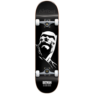 Almost Dark Knight Resin Premium Complete Skateboard 8.0