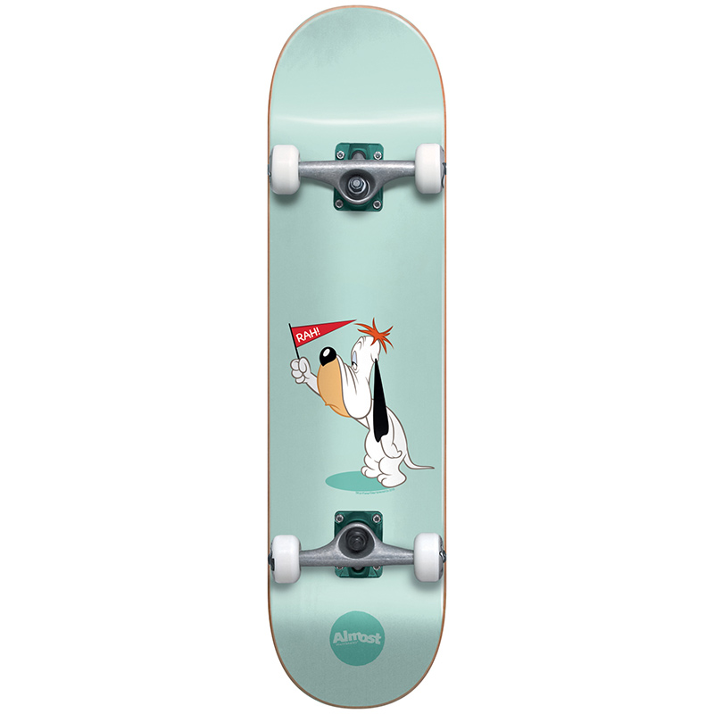 Almost Droopy Mint Green Complete Skateboard 8.0