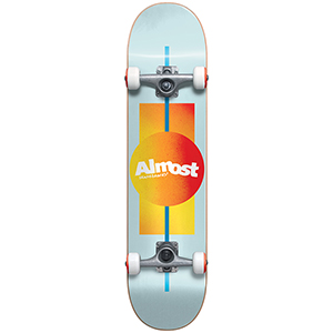 Almost Gradient FP Complete Skateboard Ice 7.75