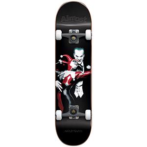 Almost Harley Quinn Resin Premium Complete Skateboard 7.75