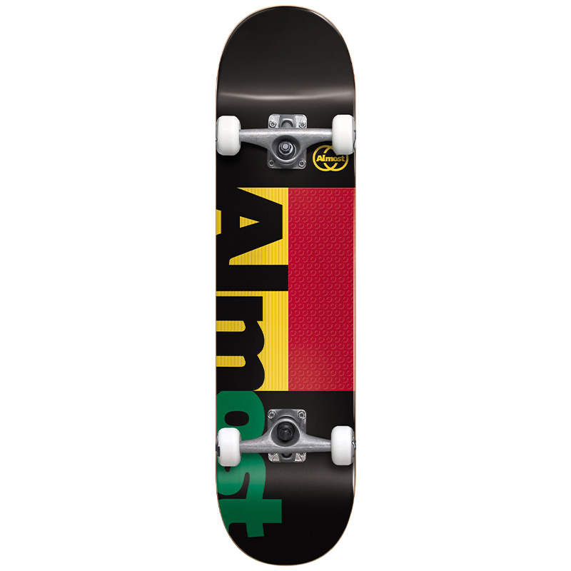 Almost Ivy League Premium Complete Skateboard Black 7.375