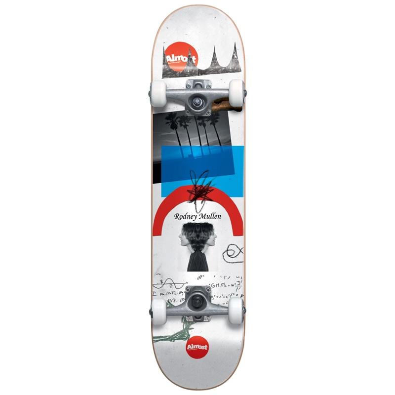 Almost Mullen Scraps Resin Complete Skateboard Mullen 7.75