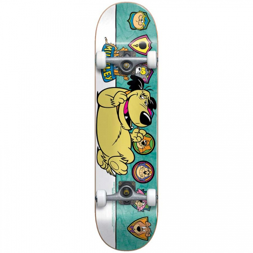 Almost Muttley Plaque Youth Premium Complete Skateboard Teal 7.0