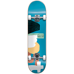 Almost Organic FP Complete Skateboard Blue 8.0