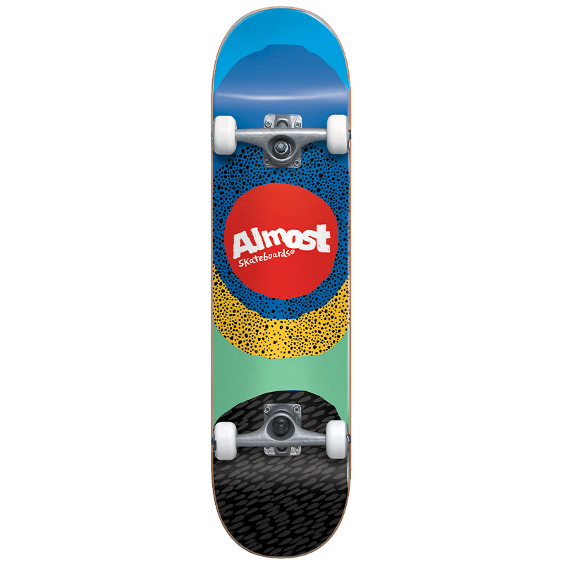 Almost Radiate First Push Complete Skateboard Blue 8.25