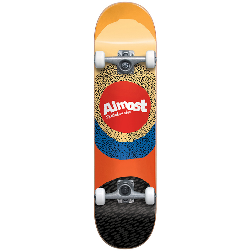 Almost Radiate First Push Complete Skateboard Yellow 7.5