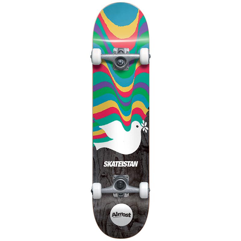 Almost Skateistan FP Complete Skateboard 7.5