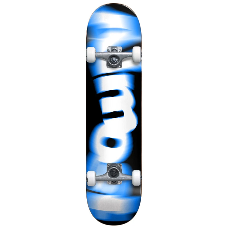 Almost Spin Blur First Push Complete Skateboard Blue 7.625