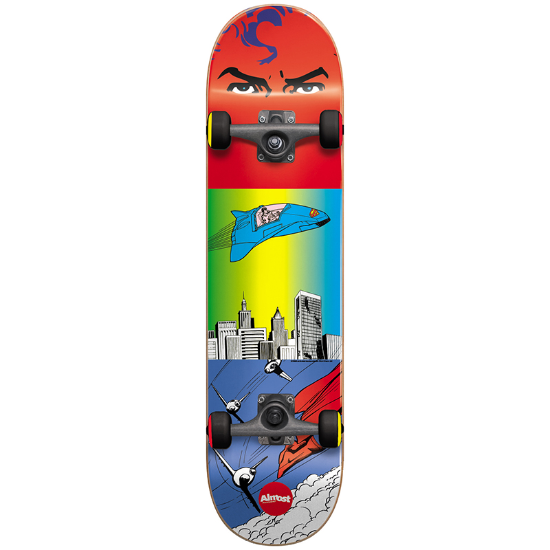 Almost Superman Flight Youth Complete Skateboard 7.0