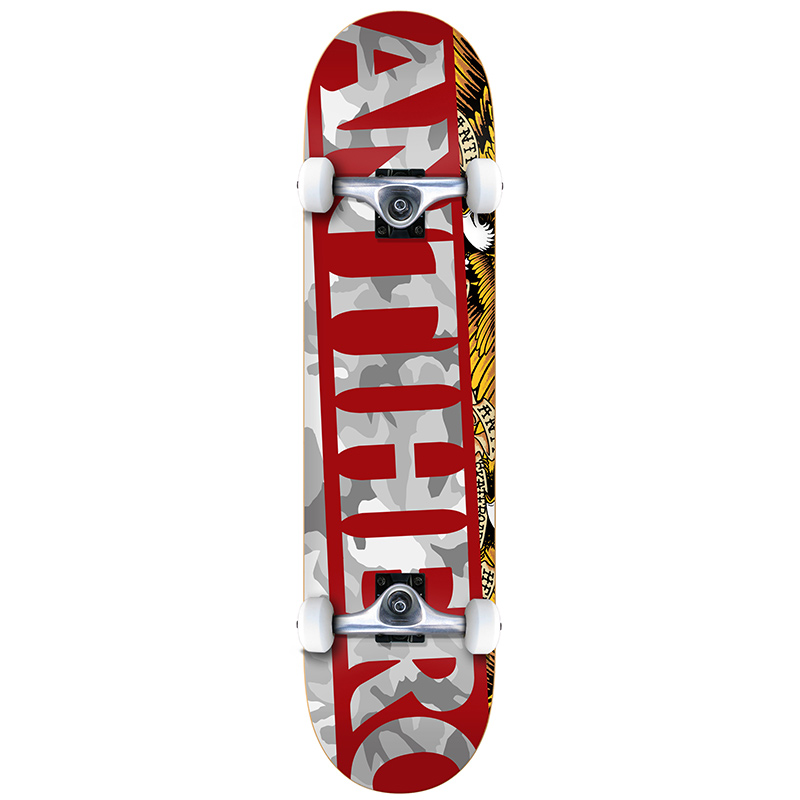 Anti Hero Blackhero Issues SM Complete Skateboard 7.5
