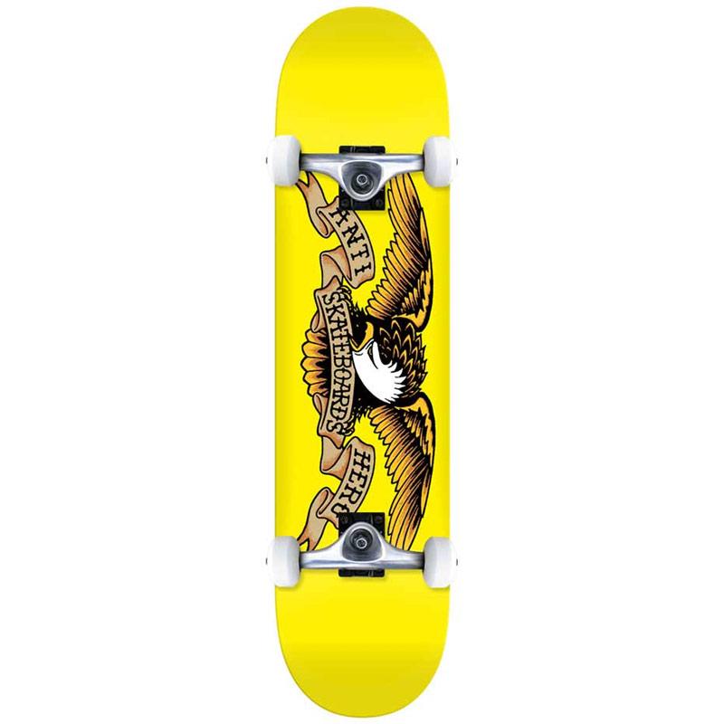 Anti Hero Classic Eagle Mini Complete Skateboard 7.3