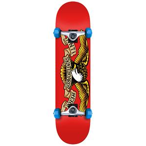 Anti Hero Classic Eagle Mini Complete Skateboard 7.38