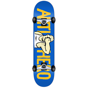 Anti Hero Face Medium Complete Skateboard 7.75