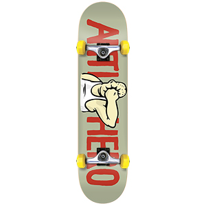 Anti Hero Face Mini Complete Skateboard 7.38